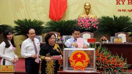 Hà Nội lấy phiếu tín nhiệm 37 lãnh đạo chủ chốt