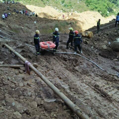 Sập mỏ vàng ở Hòa Bình: 2 phu vàng gần như hết hy vọng sống