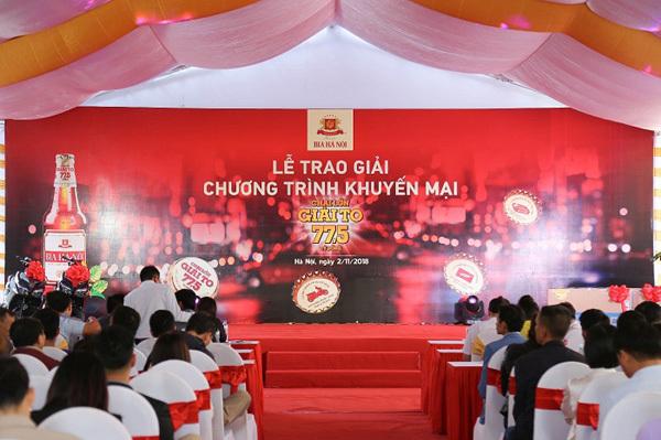Khách hàng Bia Hà Nội liên tiếp trúng thưởng lớn