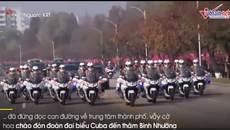 Toàn cảnh Triều Tiên long trọng đón Chủ tịch Cuba