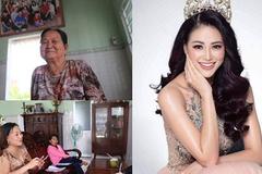 Gia cảnh Hoa hậu Phương Khánh ở Bến Tre: Cha mẹ ly hôn, học trễ 2 năm
