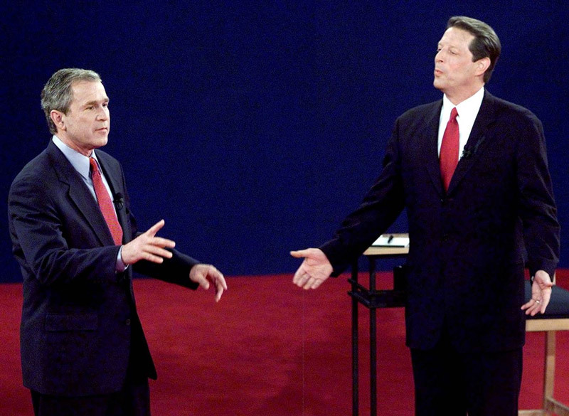bầu cử Mỹ,Mỹ,bầu tổng thống Mỹ,George W. Bush,Al Gore