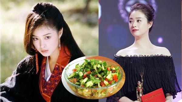 Giảm gần 7kg trong 2 tuần, mỹ nhân Thiên Long Bát Bộ tiết lộ bí quyết đơn giản