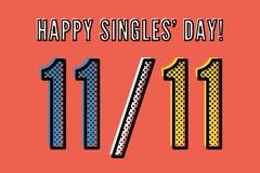 Ngày độc thân năm 2018 là ngày nào?