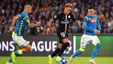 """Neymar """"tịt ngòi"""", PSG bị Napoli cưa điểm"""