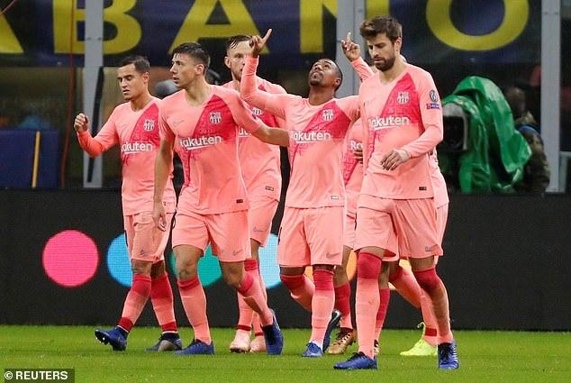 Inter Milan,Barca