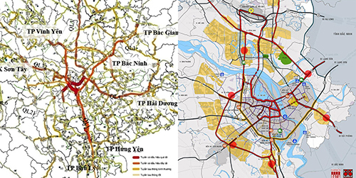 đường sắt đô thị,đường sắt quốc gia,Hà Nội,tắc đường,giao thông Hà Nội
