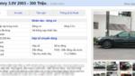 Tranh khách xe cỏ, Mercedes, BMW, Camry đời cũ xuống giá 300 triệu