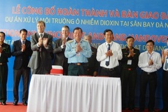 32,4ha ô nhiễm dioxin tại sân bay Đà Nẵng đã được xử lý