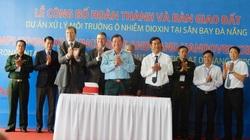 32,4ha ô nhiễm dioxin tại sân bay Đà Nẵng.đã được xử lý