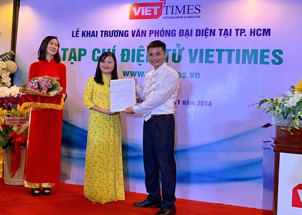 Tạp chí Viettimes ra mắt văn phòng tại TP.HCM