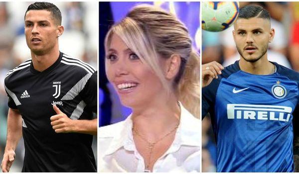 """Vợ Icardi """"tấn công"""" Ronaldo để bảo vệ chồng"""