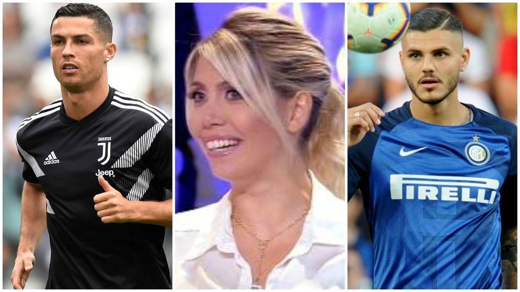 Vợ Icardi 'tấn công' Ronaldo để bảo vệ chồng