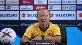 """HLV Park Hang Seo: """"Tuyển Việt Nam không dễ thắng Lào"""""""