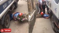 Nam thanh niên vi phạm còn nằm ăn vạ dưới gầm xe CSGT gây sốt cộng đồng mạng