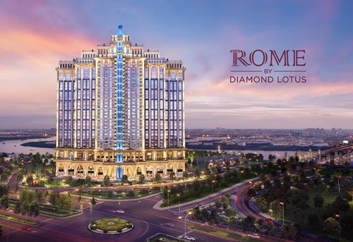 Rome by Diamond Lotus: Tinh hoa cổ điển trong kiến trúc sinh thái