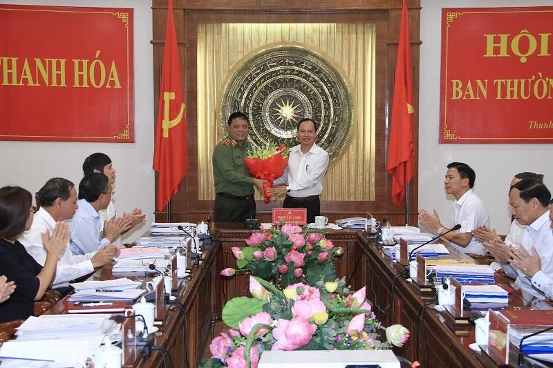 Thanh Hóa công bố quyết định nhân sự của Ban Bí thư