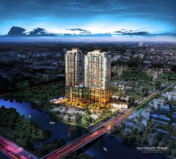 BĐS Nam Sài Gòn hút khách nhờ quy hoạch hạ tầng