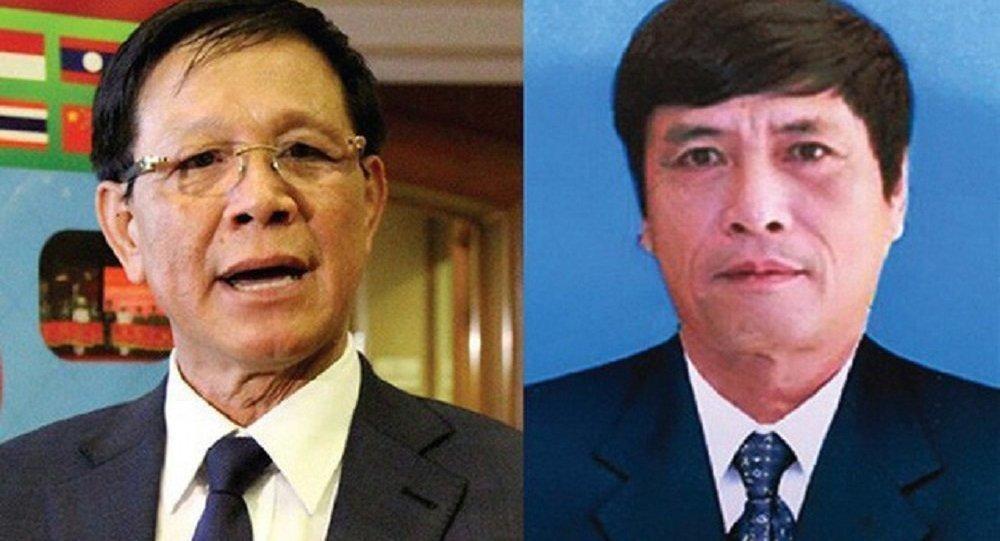 Ông Phan Văn Vĩnh và Nguyễn Thanh Hóa