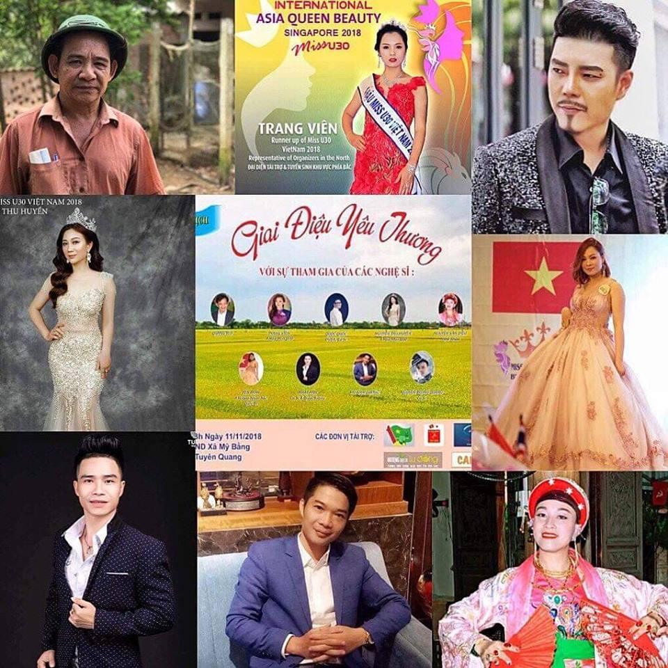 Biểu diễn nghệ thuật ủng hộ người nghèo xã Mỹ Bằng- Tuyên Quang