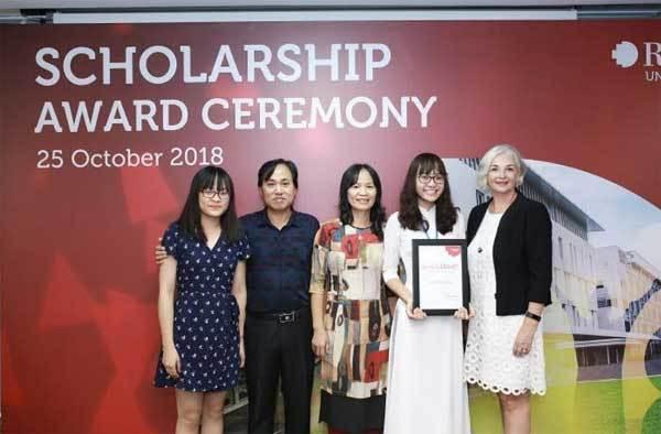 RMIT trao tặng 32 tỉ đồng học bổng năm 2018