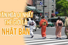 Chẳng mấy nơi dị như Nhật Bản: rau quả ăn tại vườn, giày đi ngoài đường vẫn sạch như mới