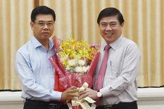 Thành ủy TP.HCM chỉ định phó bí thư quận 1, Hóc Môn