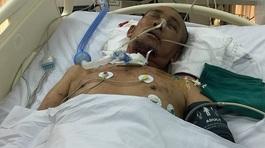 Tình cảnh nghiệt ngã của gia đình có cha tai nạn nguy kịch, con ung thư máu