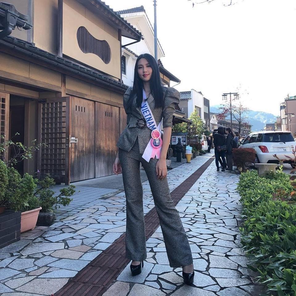 Thùy Tiên: Không áp lực vì danh hiệu Á hậu 3 Miss International của Thúy Vân