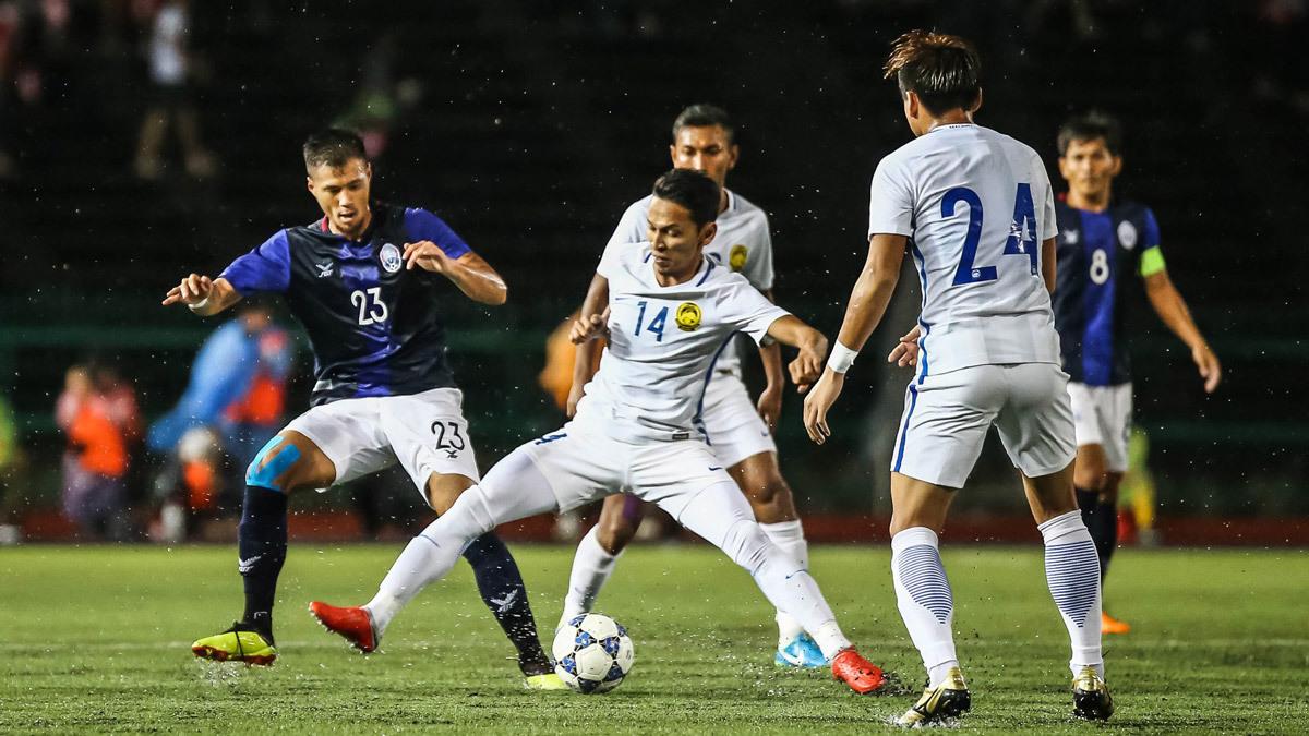 Tuyển Campuchia,tuyển Malaysia,Campuchia vs Malaysia,Link xem trực tiếp bóng đá