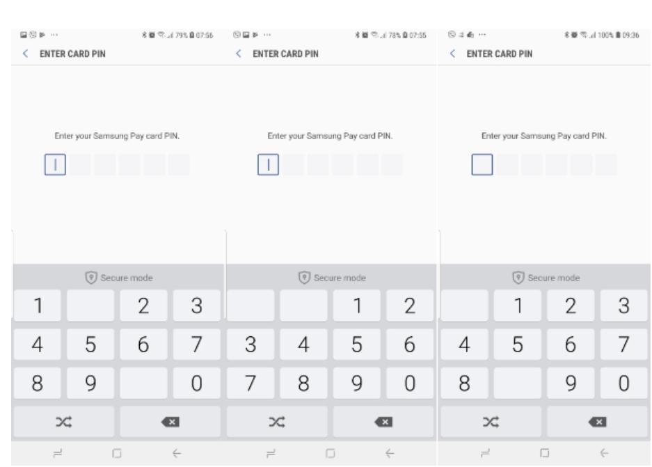 Chuyển khoản với Samsung Pay bảo mật như thế nào?