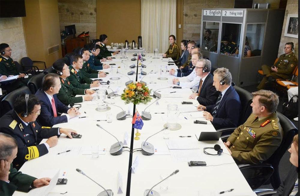Việt - Úc mở rộng hợp tác an ninh hàng hải
