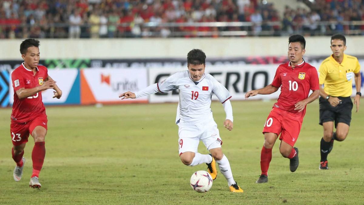 Tuyển Việt Nam,tuyển Lào,Lào vs Việt Nam,HLV Park Hang Seo,Công Phượng,Quang Hải,Anh Đức