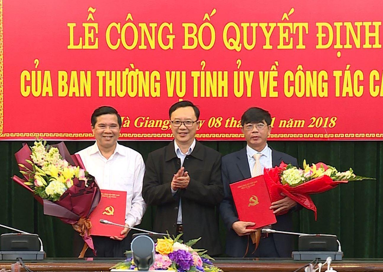 Bổ nhiệm,nhân sự TP.HCM,Điện Biên,Hậu Giang