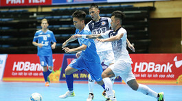 10 CLB tranh tài giải futsal HDBank Cúp Quốc gia 2018