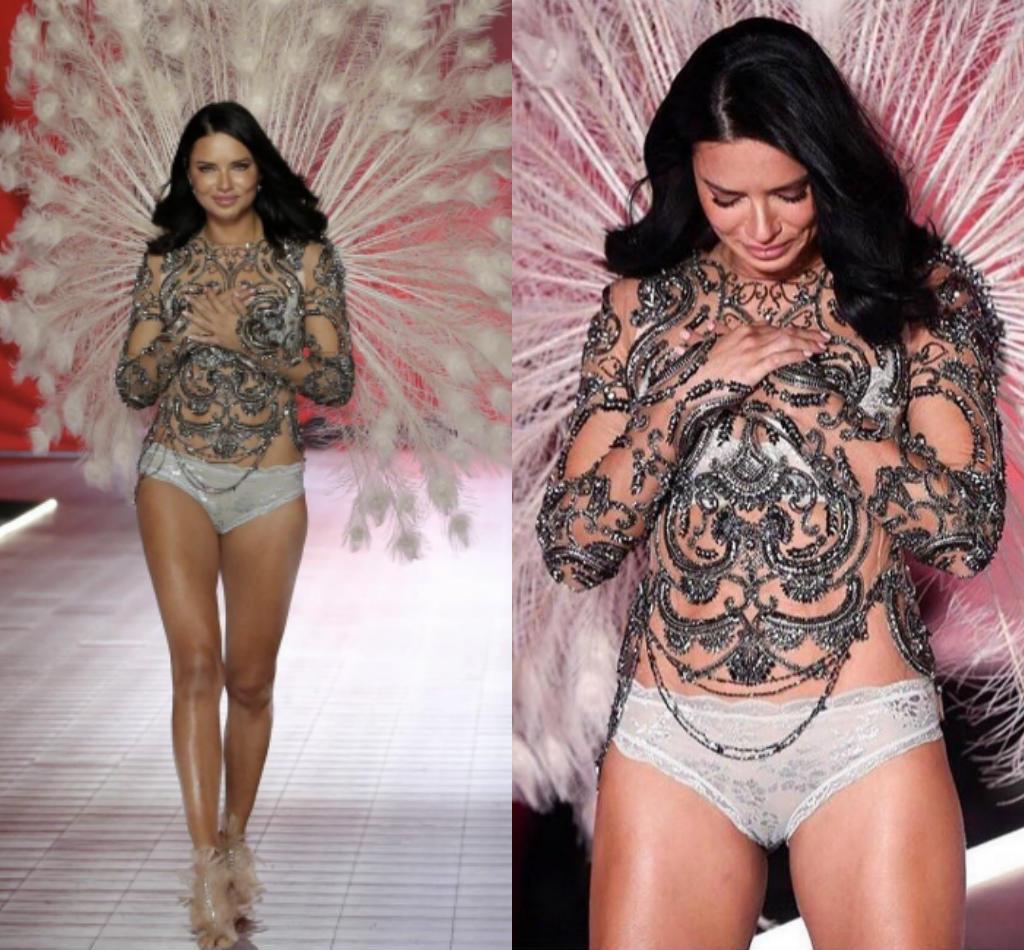 Khoảnh khắc sexy của thiên thần nội y vừa chia tay Victoria's Secret