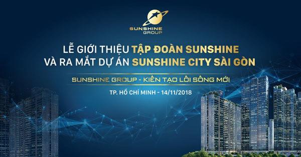 Sunshine Group ra mắt hoành tráng tại TP.HCM