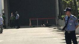Người đàn ông rơi từ tòa nhà Saigon Trade Center xuống đất chết thảm