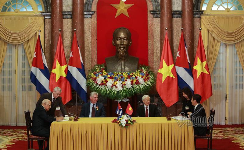 Chủ tịch Cuba: Quan hệ Cuba-Việt Nam luôn là mối quan hệ đặc biệt