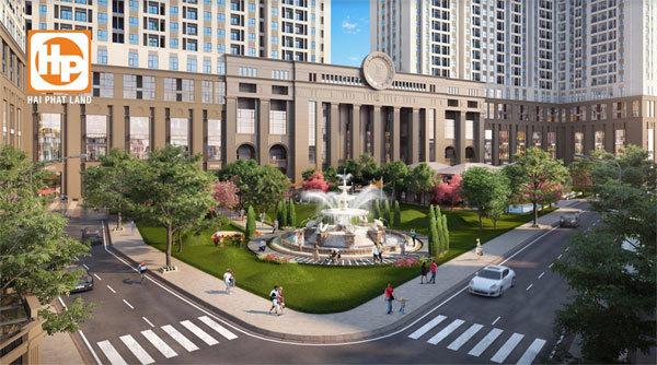 Roman Plaza nổi bật trên trục đường Tố Hữu - Lê Văn Lương
