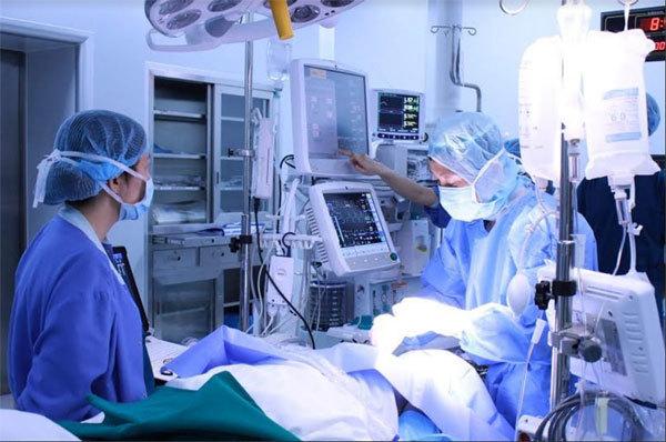 Mổ tim hở không đau ở Vinmec