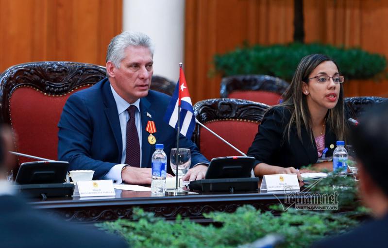 Cuba,Việt Nam-Cuba,Thủ tướng  Nguyễn Xuân Phúc,Nguyễn Xuân Phúc