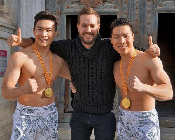 Quốc Cơ - Quốc Nghiệp tham gia Kỷ lục Guinness Thế giới