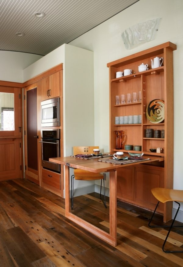 Tròn mắt với bàn ăn 'khắc nhập khắc xuất' sinh ra để dành cho nhà bếp nhỏ
