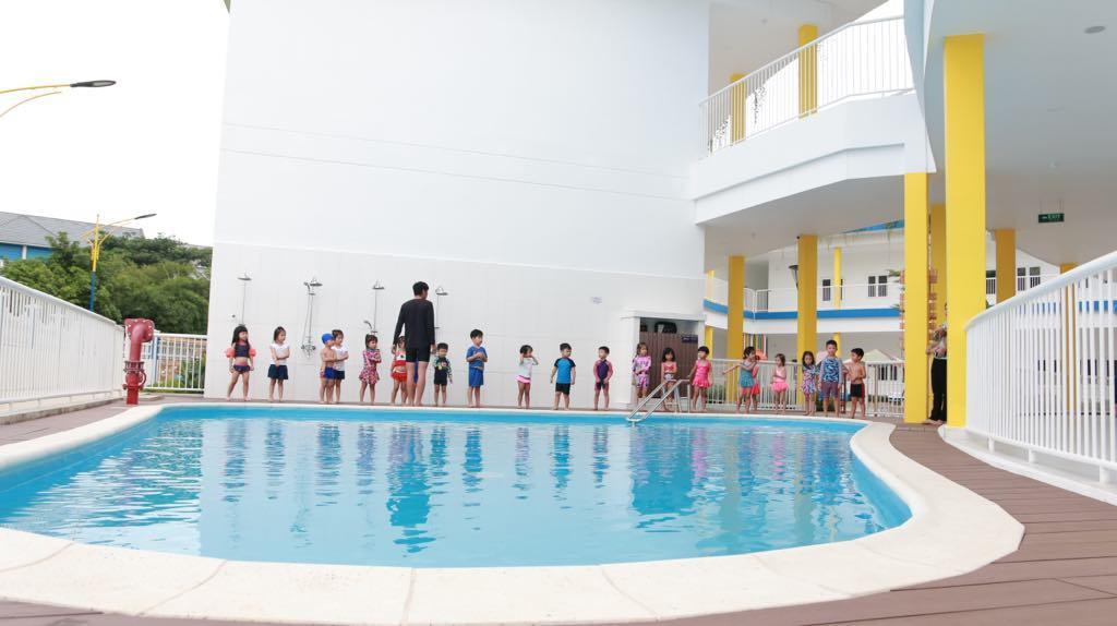 Trường mầm non tư thục 50 tỷ ở vùng ven Sài Gòn