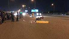 Xe máy va chạm container trên cầu Đồng Nai, 2 người tử vong