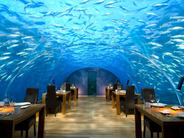 Khám phá 10 nhà hàng sang trọng nhất thế giới
