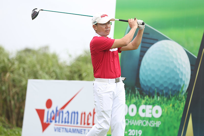 Những hình ảnh đẹp lễ khai mạc giải golf VCG500 2018-2019