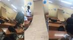 """Cô giáo gắn cuộn công thức """"khổng lồ"""" trong lớp để học sinh khỏi quên bài"""