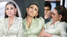 Võ Hoàng Yến khóc nức nở vì bị Thanh Hằng tiếp tục loại thí sinh ở The Face